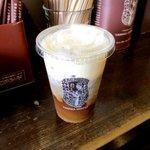 やなか珈琲店 - アイスミルクコーヒー!