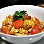 ミモザ - 卵とトマトの薫香炒め