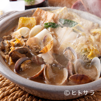 下町で愛され続ける伝統の味『亀戸大根あさり鍋』
