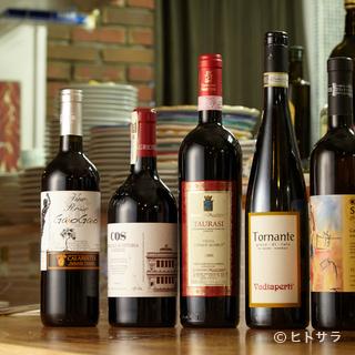 イタリアンとワインのマリアージュを楽しむ、至福のひととき