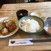 brochette Namioka - 料理写真:地鶏のカツ煮定食
