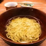 澄まし麺 ふくぼく - 澄まし麺 半盛500円