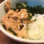 澄まし麺 ふくぼく - 具