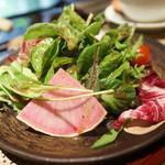 神戸ステーキレストラン モーリヤ凜 - 彩サラダ