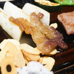 神戸ステーキレストラン モーリヤ凜 - 脂多い部位