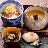 りょうり屋 くどう - 市場で見極め厳選した食材だけを使った、季節を感じる旬の味わい『壱の膳』(お昼のメニュー)