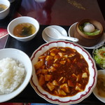 福龍香 - 料理写真:ランチ 麻婆豆腐