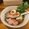 極汁美麺 umami - 料理写真:醤油らーめん(780円)+煮玉子のせ(120円)