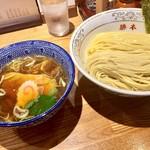神田 勝本 - 清湯(しょうゆ)ラーメン830円