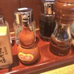 神田 勝本 - テーブル調味料