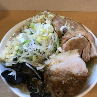 豚星。 - 料理写真:【2017.4.24】ブラックデビル¥900