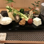 池袋 一龍庵 - 季節の八寸(四月後半)