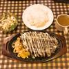 バンバン - 料理写真:2017年(平成29年)4月 banbanハンバーグセット 450グラム