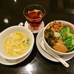 青葉 - 古越龍山と魯肉飯 (小)