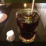 純喫茶 車 - アイスコーヒー  370円