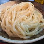シラカワ - 艶々でガッチリ麺