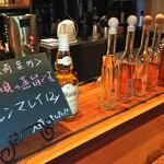 KAPPABASHI COFFEE & BAR - リキュールが豊富