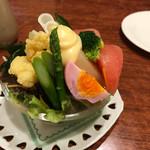 レストランゆり - 料理写真:コンビネーションサラダ ミニ。
