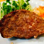 肉塊 UNO - つなぎなしの肉肉しいハンバーグ