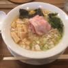 Omotenashi Noodles よこじ - 料理写真:淡炊 錦爽鶏だしそば 中盛 メンマ増し