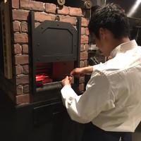 神戸炉釜工房 - すべてのお席から炉釜が見えます
