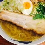 麺屋 ひょっとこ - ビッグチャーシュー(ベーコンブロックみたい)