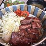 やまの - ハラミ丼御膳 980円