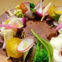 門前仲町ダイニング&バー Wren's - 旬の魚&彩り野菜のカルパッチョ