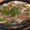 Houba - 料理写真:和牛と山菜の鍋