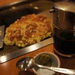 文字屋 - わさび醬油で
