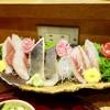 あきよし - 料理写真:[2017/04]刺身三点盛り