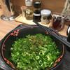 汁なし担担麺専門キング軒 - 料理写真:2辛 ネギ盛り