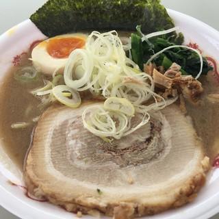 麺匠 文蔵 - 料理写真:男の濃熟豚骨醤油税込750円(当日券は800円)