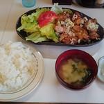 冨士ランチ - チキン甘酢しょうゆ定食