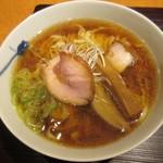 麺 みつヰ - 醤油・手もみ麺