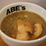 ABE's - 昼のつけ麺