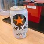 真打みかさ - 何と缶ビール