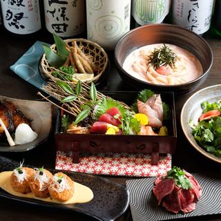 ご宴会プランは全5種類♪選べるコースは3000円より♪