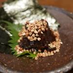 よしむら - 蕎麦味噌700円
