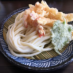 麺の蔵 - 海老天ざる(*゚∀゚*)670円
