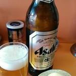 楠知 - 瓶ビール600円