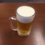 ジャンたこ - ドリンク写真:生ビール