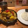 野菜を食べるカレーcamp - 料理写真:一日分の野菜カレー(ご飯は小盛)