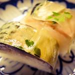 満寿形屋 - 鯖寿司