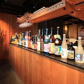 【日本酒にこだわる】豊富なラインナップ!!