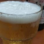 馬場南海 - 瓶ビール500円です。