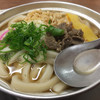 ことり - 料理写真:松山名物 鍋焼きうどん。550円です。