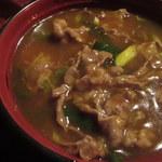 おかる - 肉カレー丼