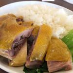 南粤美食 - 丸鶏の塩蒸し
