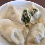 南粤美食 - ニラと豚肉の水餃子